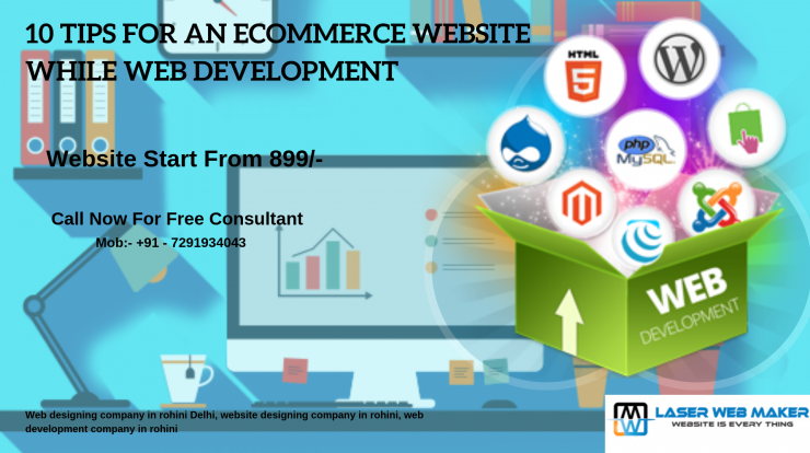 Website Designign company in rohini Delhi
