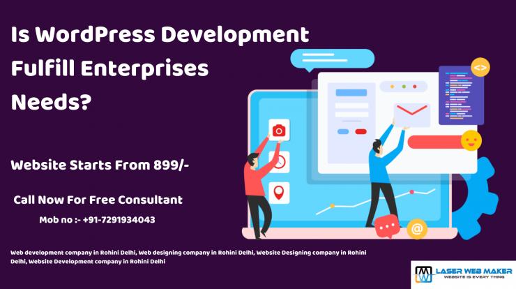 Is WordPress Development Fulfill Enterprises Needs