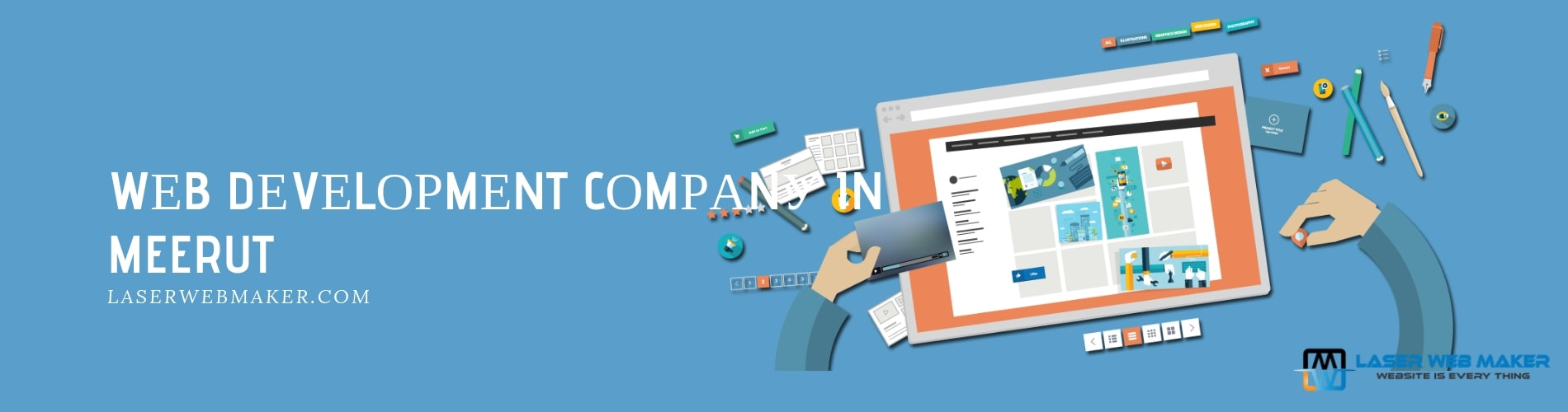 web development company in meerut